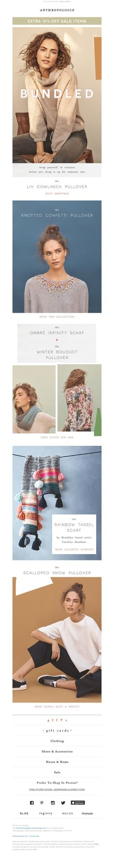 Anthropologie - One for you / one for me / 40% off SALE.