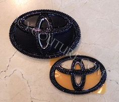 TOYOTA Car Bling Emblem with Swarovski crystals by IcyCouture