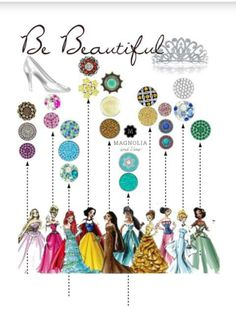 Attention all Princesses!!  Design a style that's right for you with Magnolia and Vine customizable, snap jewelry and accessories. Check out my website... www.mymagnoliaandvine.com/932