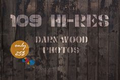 109 Hi-Res Dark Wood Photos+Bonus by IDA SHOP on Creative Market