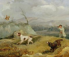 Mountain Paintings - Grouse Shooting by Henry Thomas Alken Oil On Canvas, Canvas Art, Canvas Prints, Bird Hunter, Henry Thomas, Google Art Project, Old Paintings, Indian Paintings, Nature Paintings