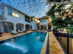 Luxury Home Magazine San Antonio #Luxury #Homes #Backyards #Pools #Design