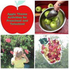 pre k apple activities