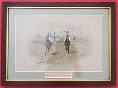 1 of 4, 1898 W. V. Longe Original Antique Victorian Cottenham Racecourse Cambridge University Cup Horseracing Watercolour Painting. by LuxfordVintage on Etsy