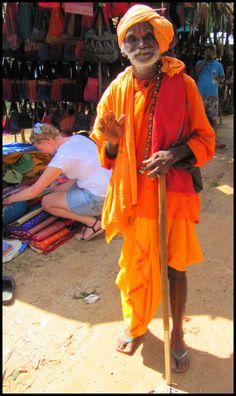 Anjuna Flea Market, Wednesday hippie flea market // Goa, India