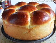 Aux délices de Géraldine: Brioche butchy (à la crème fraîche, sans beurre)