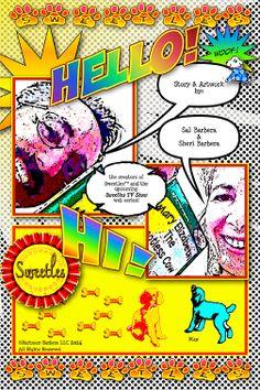 Sweetles Comic Book issue 1: Story & Artwork by Sal Barbera & Sheri Barbera