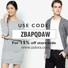 In need of retail therapy but no time for shopping? At ZALORA shopping made easy, fast, safe, secure, free return, free shipping and cash on delivery a very convenient way to do your shopping☺ ☺    Be spoilt for choice with the gamut of collections we bring – shoes, clothes and beauty products from, regional and international.