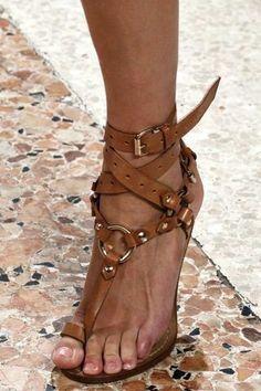 Hermes Gladiator sandals
