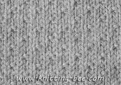 Free Dot Stitch Knitting Pattern Cast on Multiple of 4 plus 1 1st row: (RS) p1, * k3, p1, rep. from * to end 2nd row and every alt row: Purl 3rd row: KNit 5th row: k2, p1, * k3, p1, rep. from * to last 2sts, k2 7th Row: Knit 8th Row: Purl Rep…