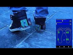 a father has invented several augmented biofeedback systems to assist his son who has cerebral palsy.