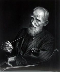 portraits Z/W | voxsart:Creators In Coat And Tie.George Bernard Shaw and the art…