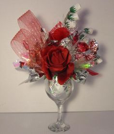 wine glass candy bouquet | Candy Bouquet Ottawa