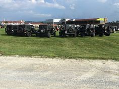Rear end shot. PA All Breeds Jeep Show 2015