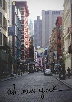 Calles de Nueva York.