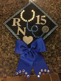 My nurse graduation cap ? Nursing School Graduation, Graduation Day, Graduation Pictures, Graduate School, Nursing Board, Nursing Pins, Nursing Career, Graduation Cap Designs, Graduation Cap Decoration