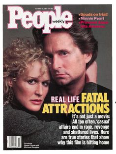 Glenn Close and Michael Douglas Jet Magazine, Movie Magazine, Life Magazine, Nanette Fabray, What Is Miss, Glenn Close, Celebrity Magazines, Fatal Attraction, Hit Home