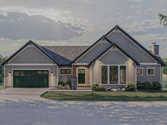 050H-0412: Mountain House Plan with Large Deck Lake House Plans, Best House Plans, The Lake House, Beach House, River House, Open Concept Kitchen, Open Concept House Plans, Concept Home, Thing 1