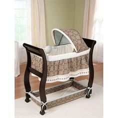 $159.99 Carter's Animal Parade Wood Bassinet by Summer Infant