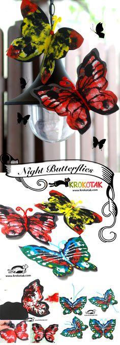 Beautiful Night Butterflies