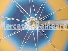 OMBRELLONI ALLUMINIO PEZZI 39 EURO 55.00 - Mercatino Balneare ombrelloni in alluminio mod. oro con snodo stecca da 100 palo 130 baionetta, tessuto sfum. blu/giallo, panta aperta laccio cucito sulla stecca, prezzo cadauno iva esclusa Quantità:39 Prezzo €55.00+iva  http://www.mercatinobalneare.it/annuncio/ombrelloni-alluminio-pezzi-39-euro-55-00/  #stabilimentobalneare #attrezzaturabalneare #attrezzaturabalneareusata #mercatinobalneare #attrezzaturabalnearenuova #ann