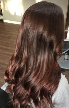 This color is beautiful for fall - Cabello Rubio Hair Color Auburn, Auburn Hair, Hair Color For Black Hair, Brown Hair Colors, Brown Blonde Hair, Brunette Hair, Rich Brown Hair, Chestnut Hair, Hair Shades