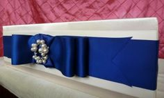 #Fairytale #BlueRibbon #Pearl #CoutureCakeStand www.cakeitupcakestands.com