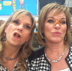 dance moms' Melissa and Jill <3 lol what melissa.....