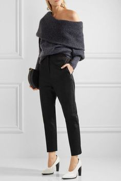 Jil Sander - Stretch-cotton Gabardine Slim-leg Pants - Black - FR36