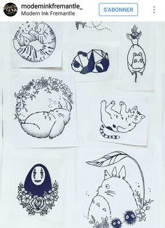 Pin: l i s s e t t e✨💜 studio ghibli tattoo, studio ghibli art, tattoo drawings, Anime Tattoos, Body Art Tattoos, Tattoo Drawings, Small Tattoos, Art Drawings, Studio Ghibli Tattoo, Studio Ghibli Art, Tattoo Studio, Tattoo Samurai
