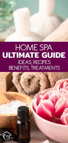 This is the ultimate guide to creating your own home spa. Create a spa party. pamper yourself, design a home spa or run a spa business.
