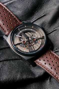 - High-End mechanical watches - watches Mechanical Watch, Automatic Watch, Watches, Leather, Men, Accessories, Collection, Clocks, Clock