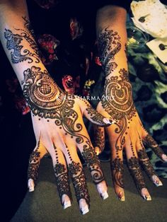 TOP TIPS YOU SHOULD BE FOLLOWING FOR YOUR BRIDAL MEHNDI/HENNA! Good advice