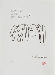 john-lennon doodles