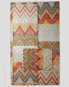 Sedona Flat-Weave Wool Rug