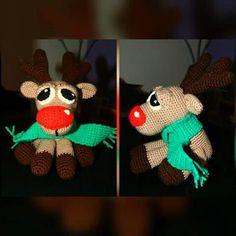 #rentier #crochet #häkeln #handmade #handarbeit