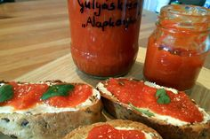 Hungarian Recipes, Jar Gifts, Food 52, Ketchup, Good Food, Food And Drink, Cooking Recipes, Homemade, Canning