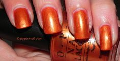 OPI Fall/Winter 2002 - European Collection:  Hungary For My Honey