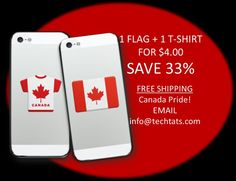 Show some PRIDE sport your Canada Tech Tats