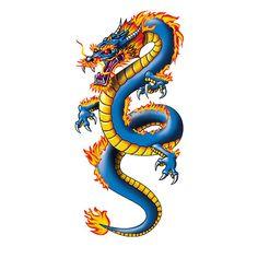 Chinese Dragon Drawing, Chinese Dragon Tattoos, Japanese Dragon, Chinese Art, Japanese Art, Dragon Tattoo Images, Dragon Tattoo For Women, Dragon Tattoo Designs, Dragon Tattoo Temporary