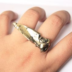 Gold plated arrowhead ring Free w Bundle Adjustable arrowhead ring gold plated (real gold plated!). Chic and edgy. Buy now or get free with bundle purchase of $20 or more. BCBGeneration Jewelry Rings