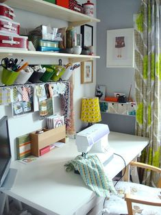 Cute space for sewing