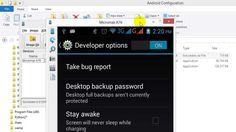 How to configure Android Mobile to PC with SDK, JDK and Droid Screen?