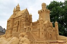 sand sculpture by julymoon