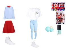 """""""Red velvet Wendy dumb dumb outfit inspired (kpop)"""" by powercake on Polyvore featuring Marni, Miu Miu, Vans, Moschino, River Island and NARS Cosmetics"""