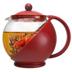 Primula Flowering Tea Gift Set 40-Ounce Tea Pot , New, Free Shipping $17.51
