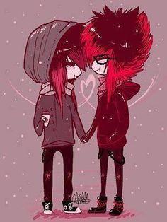 emo❤ cute (: