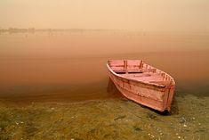 Lake Retba, le Lac Rose, Senegal 2005