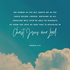 Verse of the Day - Romans 8:39