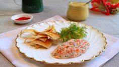 How to make the perfect Smoked Salmon Rillette with Pickled Cucumber by Jun Tanaka on Food Network UK.